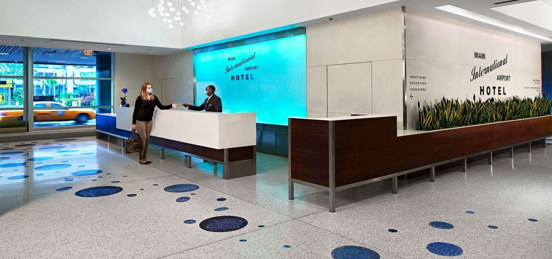 Front Desk at Miami International Airport Hotel